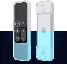 elago R1 Intelli Case [Nightglow Blue]-[Magnet Technology][Anti-Slip][Lanyard Included][Heavy Shock Absorption] for Apple TV Siri Remote 4K / 4th Generation