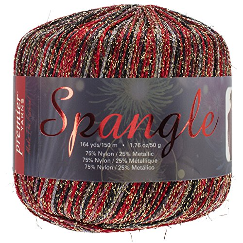 Premier Yarns Spangle Yarn, Spanish Nights