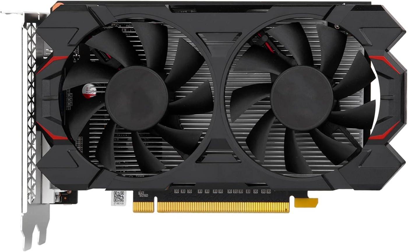 Tarjeta de video RX 560 4G Tarjetas gráficas de marca GPU 128Bit GDDR5 GTX 650960970 1050 TI 4G 1660S RTX 2060 6G Tarjeta gráfica para juegos Juego de computadora de escritorio(Color:GTX 960 4G)
