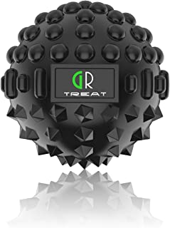 GUARD & REVIVAL TREAT High Density Massage Ball - Pro Deep Tissue Trigger Point Roller - Relieve Back Neck Shoulder Muscle Sore