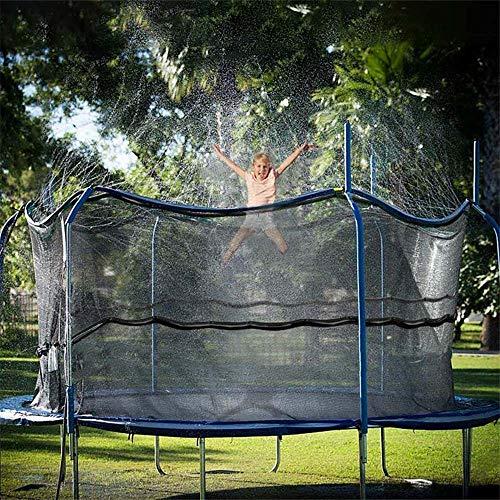 Powstro Trampolin Sprinkler, Outdoor Trampolin Wasserspiel Sprinkler für Kinder, Fun Water Park Sommerspielzeug Trampolin Zubehör 39 Fuß