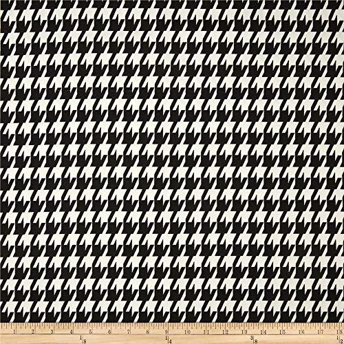 Premier Prints Large Houndstooth, Yard, Black