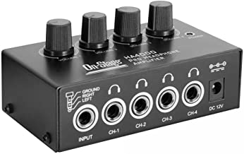 On-Stage HA4000 4-Channel Pro Headphone Amplifier