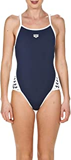 ARENA W Team Stripe Super Fly Back One Piece W Team Stripe Super Fly Back One Piece Mujer