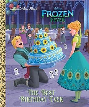The Best Birthday Ever  Disney Frozen   Little Golden Book
