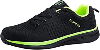 Waymine Men's Sneakers Lightweight Comfortable Breathable Cotton Walking Running Shoes Sport Shoes Basketball Shoes