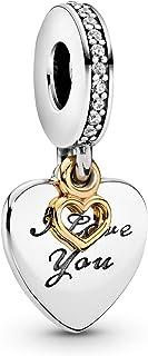 Pandora Women s Love You Forever Pendant Charm - Silver