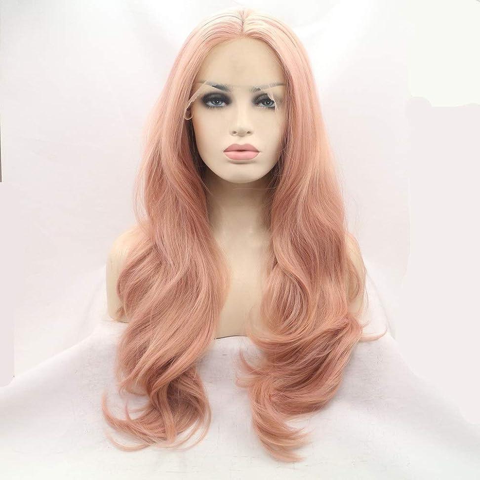 女優時折インポートかつらキャップかつらで長いファンシードレスカール女性用高品質な人工毛髪コスプレ高密度かつら18インチ、20インチ、22インチ、24インチ、26インチ (Size : 22inch)