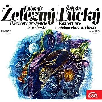 Lubomír Železný Violin Concerto, Štěpán Lucký Cello Concerto