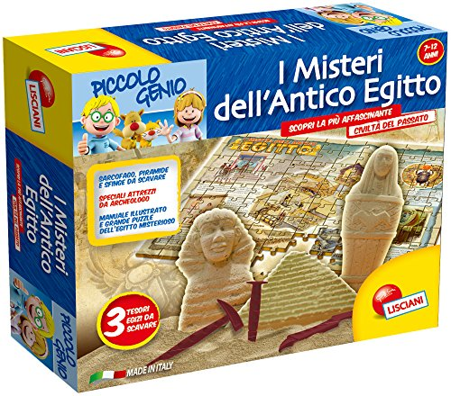 Lisciani 46386 - Piccolo Genio I Misteri Dell'Antico Egitto