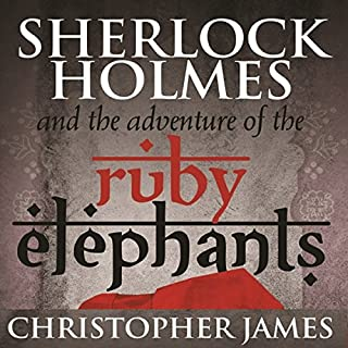 Sherlock Holmes and the Adventure of the Ruby Elephants cover art