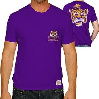 Elite Fan Shop NCAA Mens Pocket T Shirt Retro