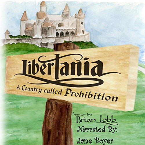Libertania audiobook cover art