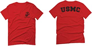 Black Seal United States of America USA American Marines Corps USMC for Men T Shirt