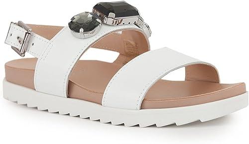 Liu Jo Jeans, Chaussures de Sport d'extérieur pour Femme Blanc Bianco 38 EU - Blanc - Bianco, 37 EU EU