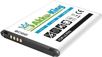 Akku-King Battery for Optimus Black P970  Optimus Hub  Sol  Net  Optimus Slider Li-Ion replaces BL-44JN 1700mAh