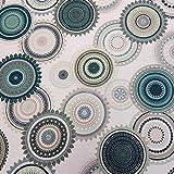Werthers Stoffe Stoff Meterware Baumwolle beschichtet
