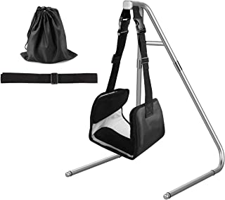 Head Relief Hammock, Hammock for Shoulder Pain, Portable Cervical Traction and Relaxation Device w/Hammock Stand-Suitable for Office Workers, Drivers