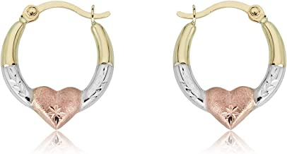 gold hoops for girls