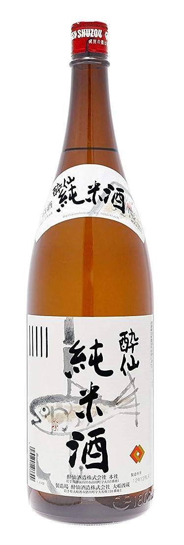 導体勃起サイレント[清酒?日本酒] 酔仙 純米酒 1800ml 6本 (1.8L) 酔仙酒造