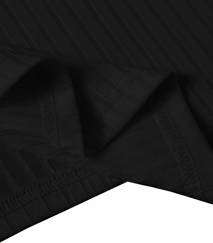 SheIn Women's Plus Buckled Sleeveless Scoop Neck Rib Knit Solid Crop Tank Top Vest
