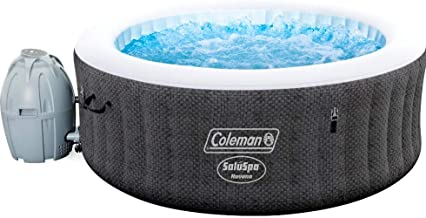 "Coleman Saluspa 71"" x 26"" Havana AirJet Inflatable Hot Tub with Remote Control, 2-4 Person"