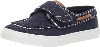 The Children's Place Unisex-Child Velcro Canvas Boat Shoe