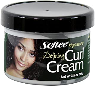 Softee Signature Defining Curl Cream, 3.5 Ounce