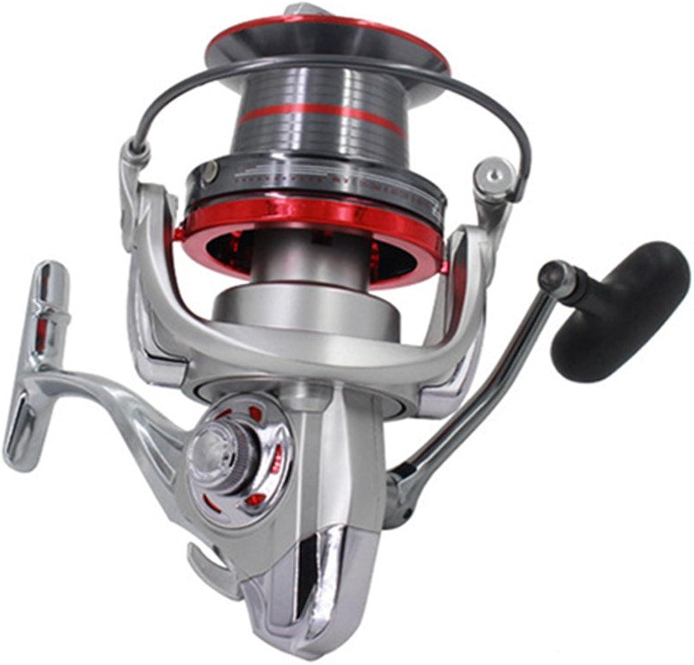 FRCTS9000 Fishing Tackle Long Shot Casting Fish Wheel 14+1BBs Biggest Spinning Reel for Carp Fishing Sea Fishing