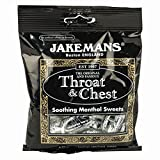 Jakemans Throat and Chest Menthol Sweets, 100g