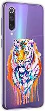 Oihxse Cristal Clear Coque pour UMIDIGI F1 Silicone TPU Souple Protection Etui [Jolie Aquarelle Animal Design] Anti-Choc A...