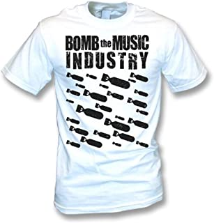 Bomb The Music Industry T-shirt, Color White