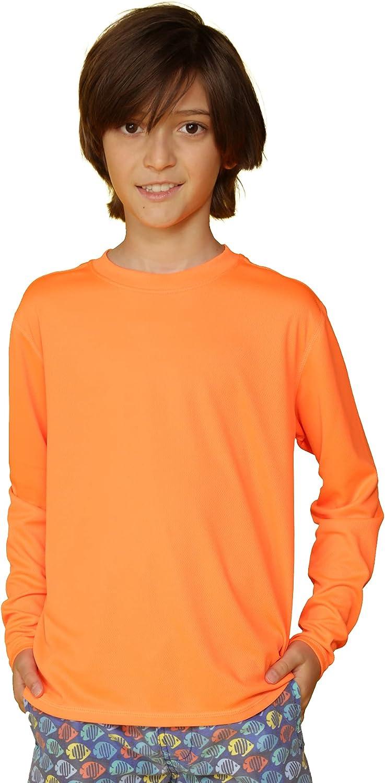 INGEAR Boys' Swim Shirt UPF Boys Sleeve Shirts Ra Long Sun Ranking TOP13 We OFFer at cheap prices