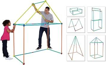 Antsy Pants Medium Build & Play Kids Playhouse Kit - 81pc