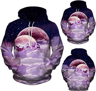 Mode 3D Xmas Printing Hooded Sweatshirt,DBHAWK Men Fashion Christmas Hoodies Long Sleeve Pullover Hoodie Tops
