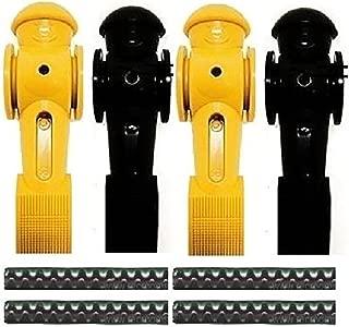 Tornado 4 Foosball Men Counter Balanced Roll Pin