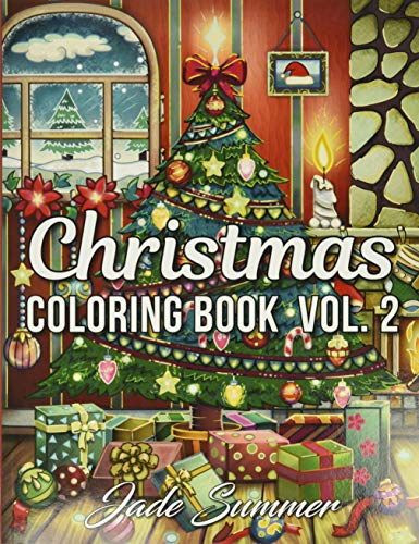Christmas Coloring Book: An Adult Coloring Book with Fun, Easy, and Relaxing Designs (Volume 2) (Christmas Coloring Books)