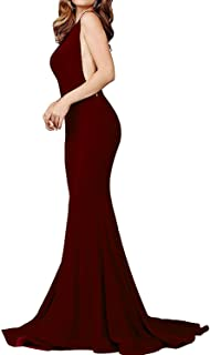 Prom Dresses Long Sexy Mermaid Evening Party Gowns Formal Dress for Women