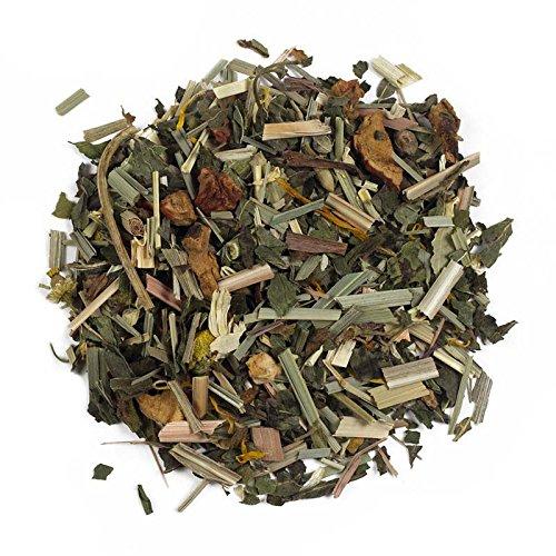 Aromas de Té - Infusión Secretos del Tiempo - Con Hinojo, Manzanilla, Hierbabuena, Hojas de Fresa, Flores de Tilo y Flores de Caléndula - Infusión Relajante - Digestiva - - 100 gr