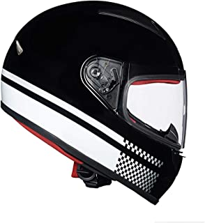 Royal Enfield Gloss Black Full Face With Visor Helmet Size (XL)62 CM (RRGHEJ000012)