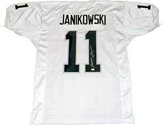 white janikowski jersey