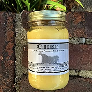100% Organic and Grass Fed Cultured French Ghee
