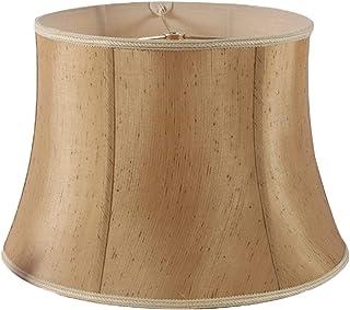 SZ JIAOJIAO Sombras de luz de Lino de Pantalla, Tela Moderna Pantalla de Tela Lámpara de Tela Accesorio, E27 Wall Lampshade
