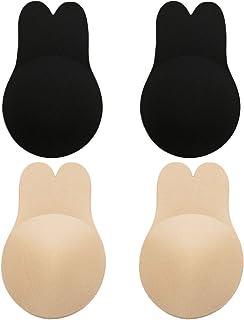 Reutilizable Lifting Bra Cups Breathable Cubierta de pez/ón para Las ni/ñas Las Mujeres Cubren el Sujetador Invisible Sujetador EgBert 3 Pares de Silicona Pasties Breast Lift