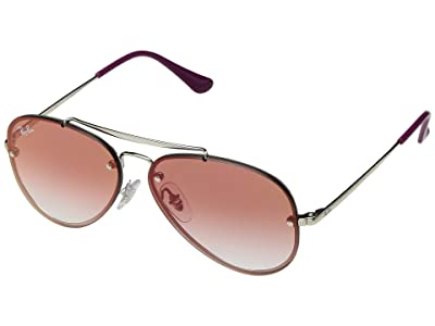 Ray-Ban Junior RJ9548SN (Youth) (Silver 1) Fashion Sunglasses