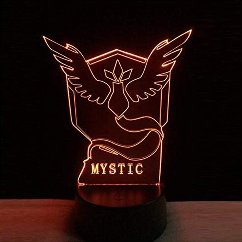 Led Lights Edison Lights 3D Led Nachtlicht Bunte Acryl Tischlampe