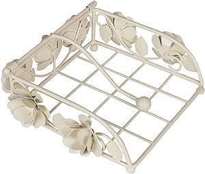 Porte-serviettes en Fonte pour Serviettes de Table Lestées - H 9 x l 19 x D 19 cm