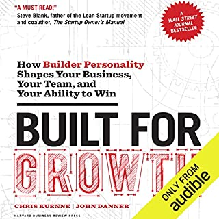 Built for Growth audiobook cover art