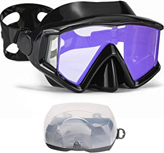 AQUA A DIVE SPORTS Scuba Snorkeling Dive Mask for Scuba Diving Snorkeling Free Diving