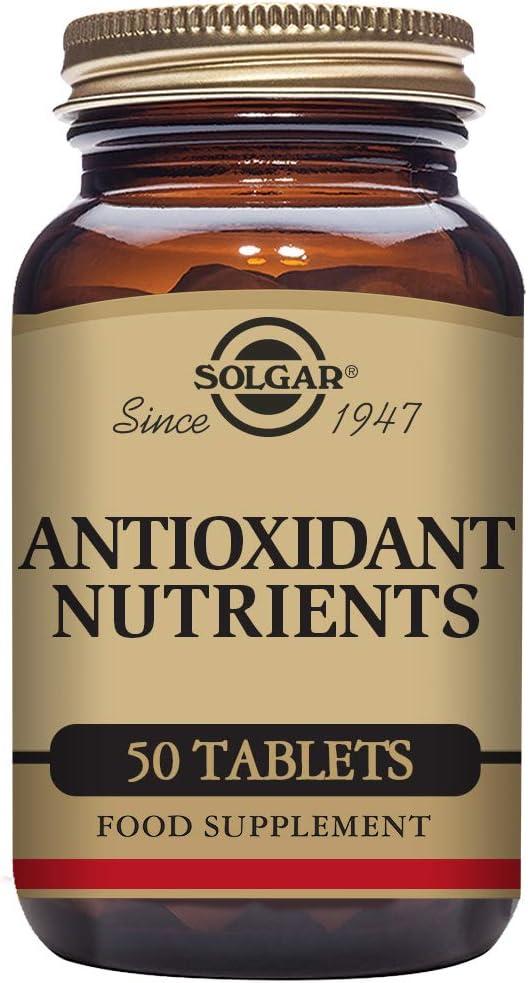 Solgar Nutrientes Antioxidante - 50 Tabletas (E115)